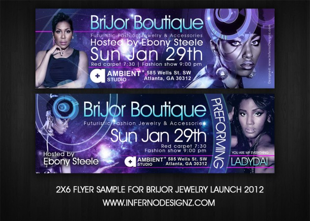 Brijor Boutique Event Ticket – Sample Event Tickets