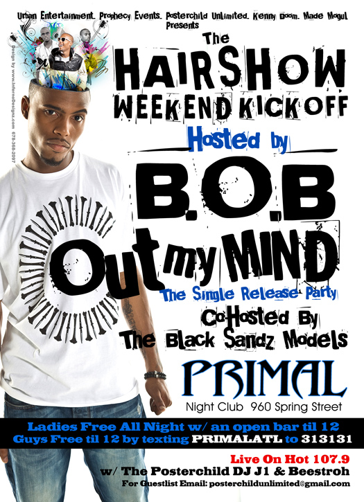 BOB Out My Mind Flyer 2 small