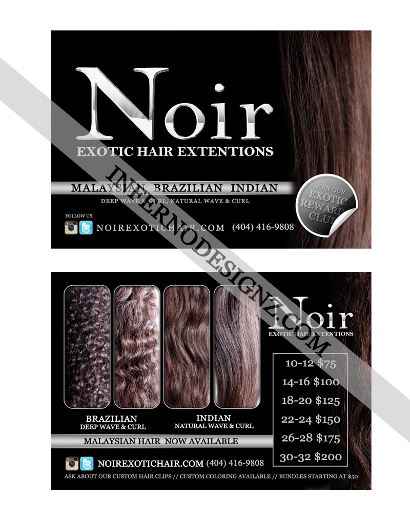 Noir Flyer Sample